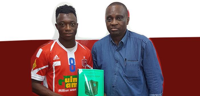 Transfert : un nouveau Burkinabé signe au Horoya