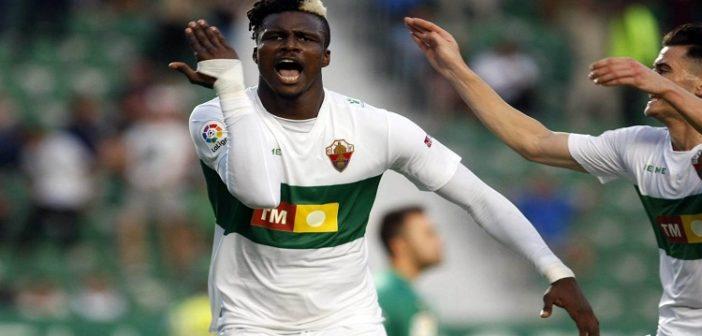 Vidéo: le huitième but de Sory Kaba avec Elche
