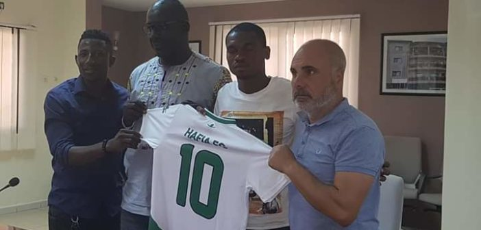 Transfert : Willy N'Dongo (attaquant) renforce le Hafia