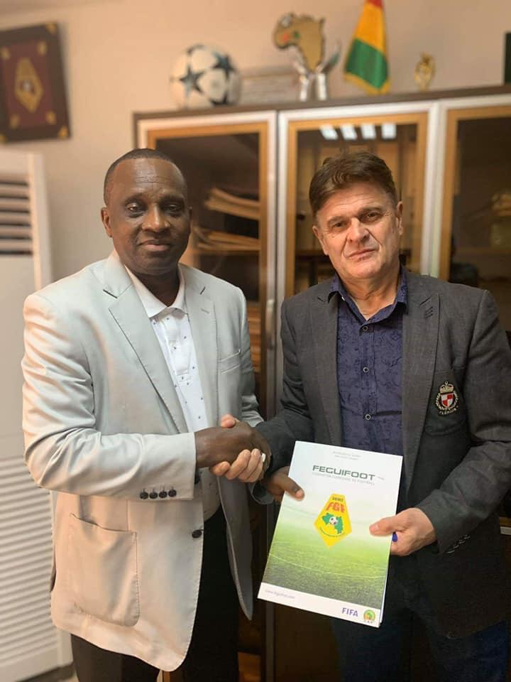 Didier Six et Antonio Souare