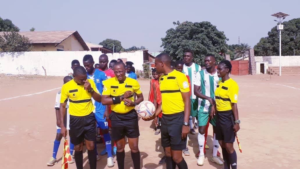 LELOU FC VS GANGAN FC