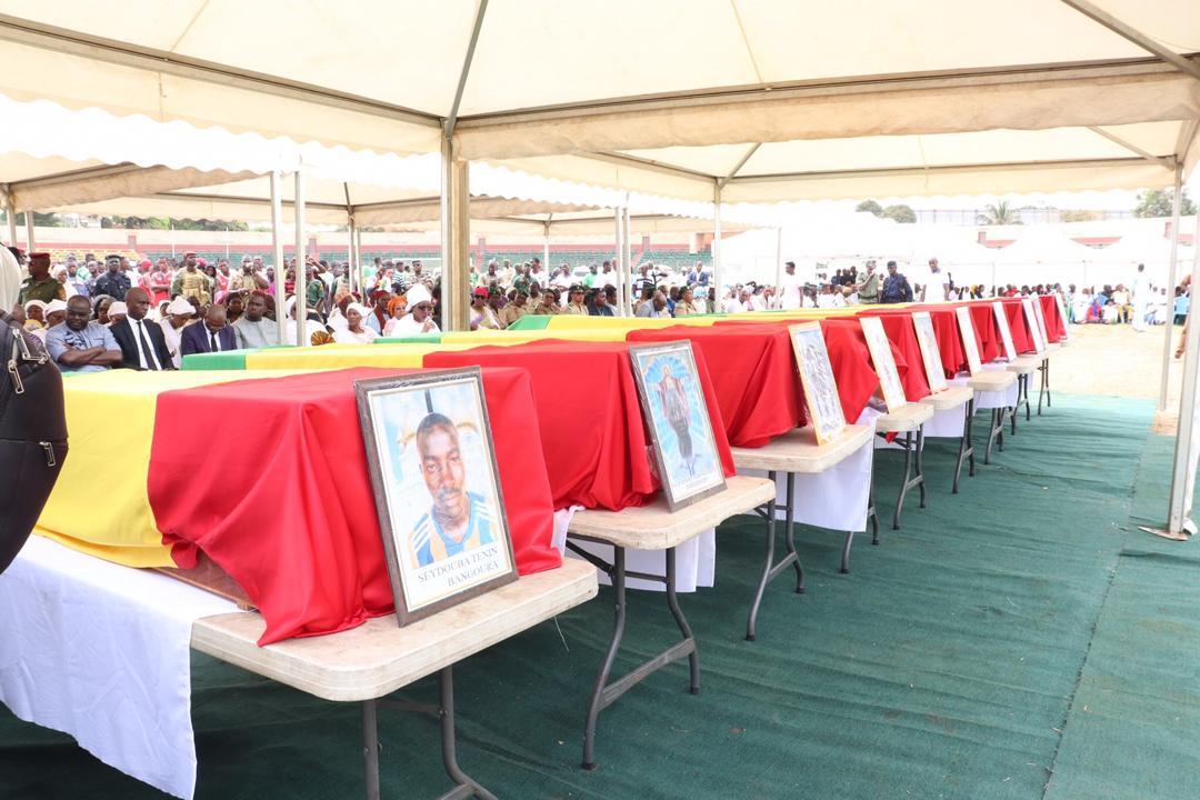 Obsèques CS Etoile de Guinée