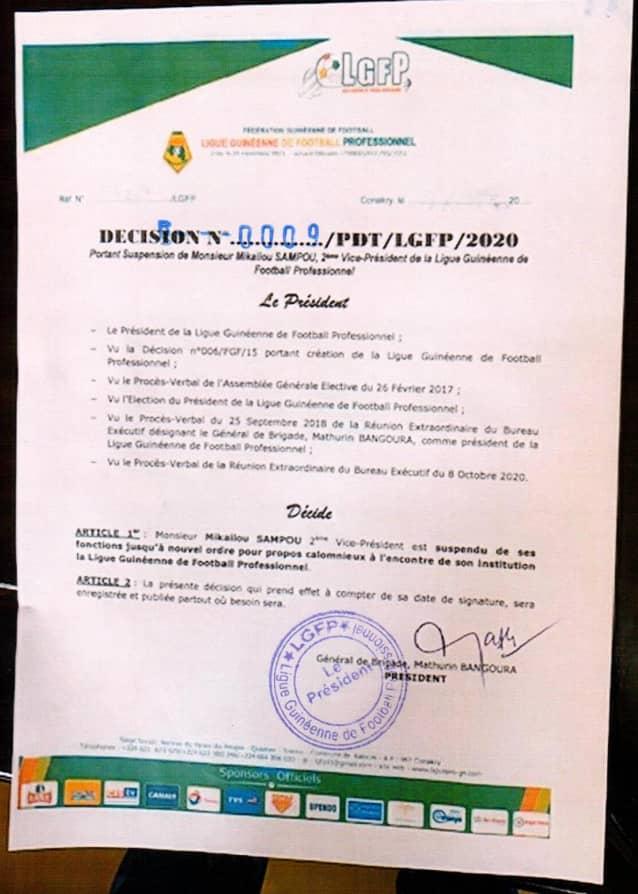 Suspension Sampou Wakriya AC
